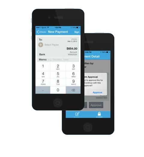 Deluxe eChecks Mobile App
