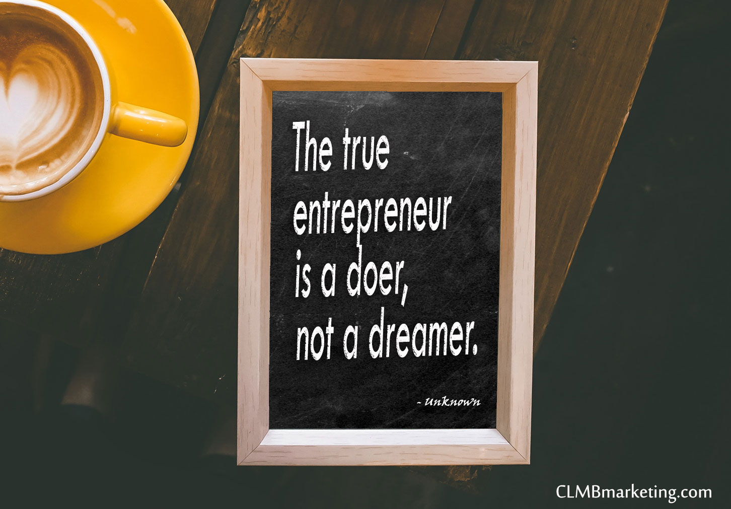 Motivational Business Quotes: The true entrepreneur is a doer, not a dreamer.