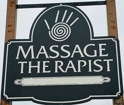 Worst Logo Designs: Massage Therapist