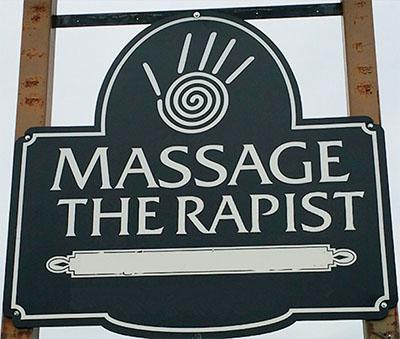 Worst Logo Designs: Massage Therapist