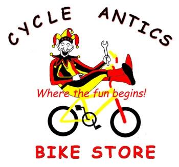 Worst Logo Designs: Cycle Antics Bike Store
