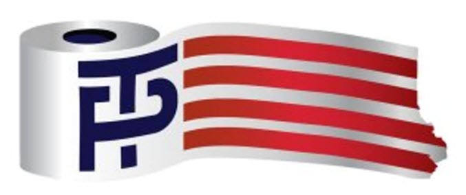 Trump-Pence Toilet Paper Logo