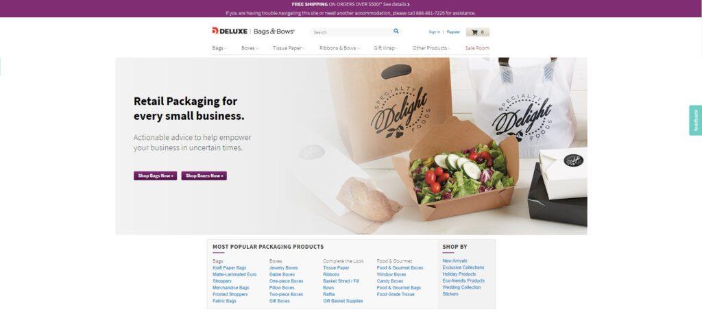 BagsandBows Retail Packaging Affiliate Program