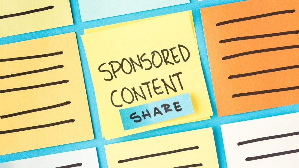 B2B Blog Revenue Sponsored Content